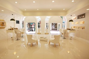 Chic and sumptuous, Orogold stores invite you in
