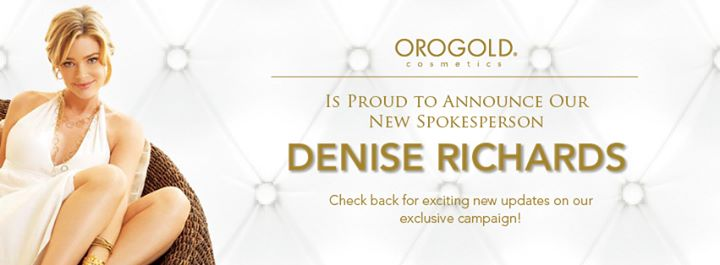 Interview of Denise Richards, Oro Gold Spokesperson