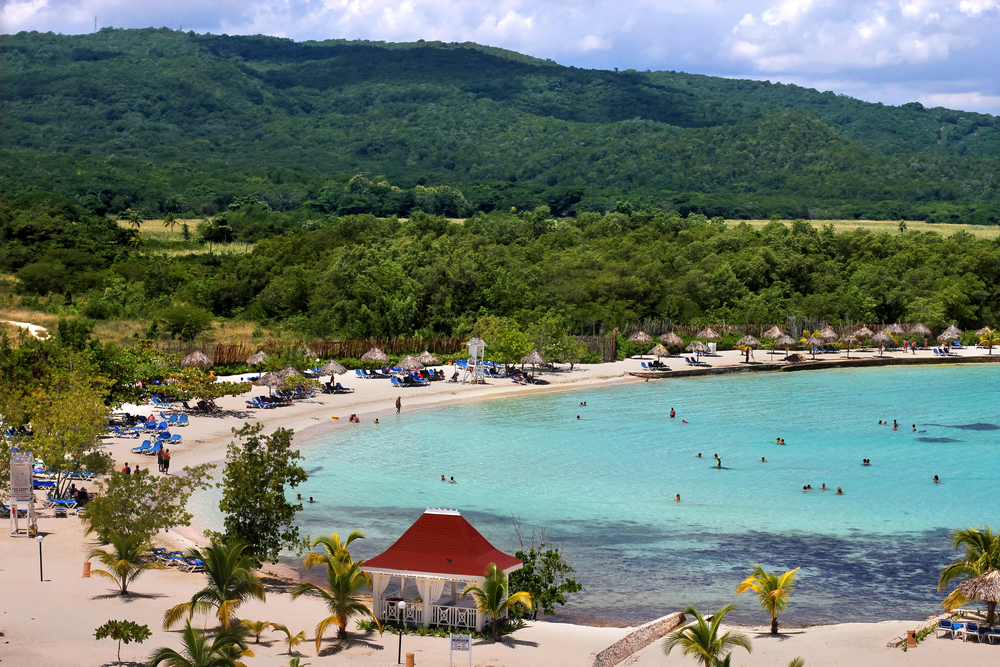 The Caribbean offers honeymooners many beautiful beaches to lounge on