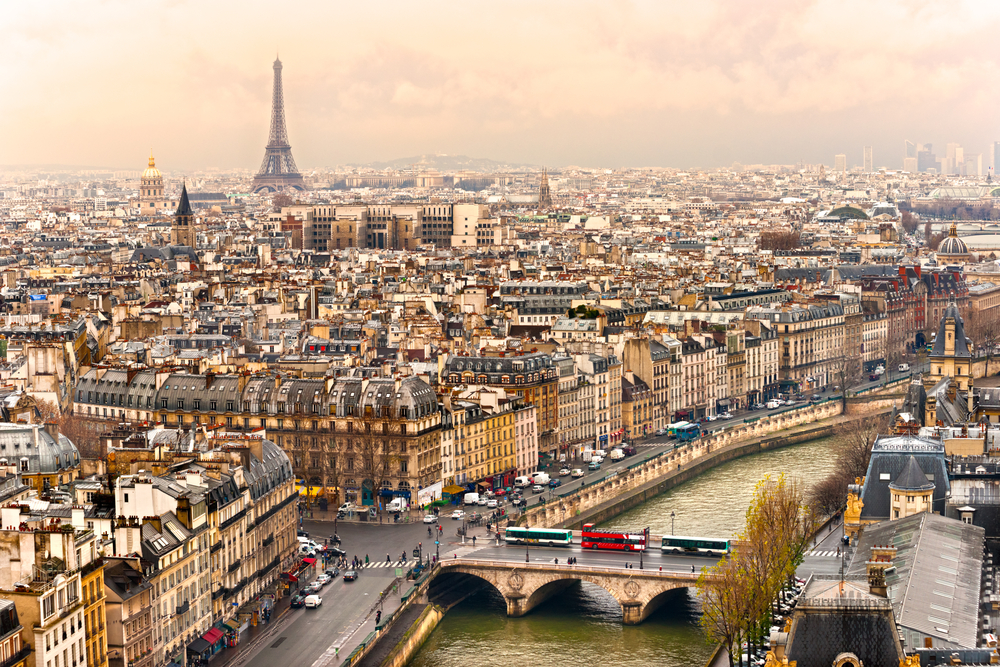 Paris is considered a romantic city