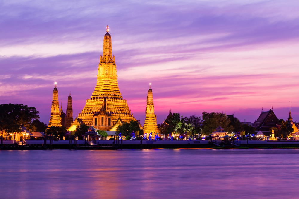 Beautiful temples in Thailand