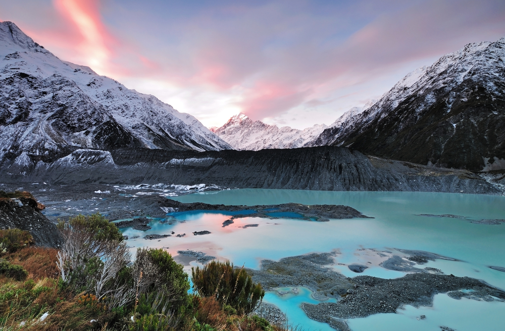The raw natural beauty of New Zealand