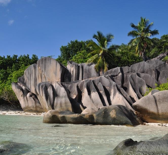 Anse Sourse d'Argent Beach in La Digue, Seychelles