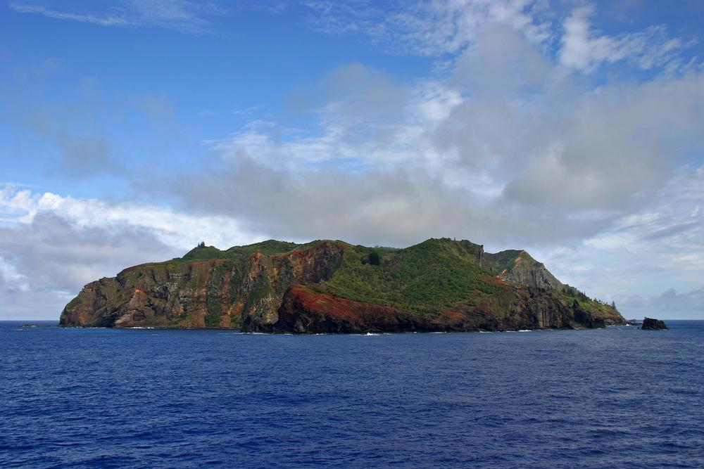 View of Tristan de Cunha Island