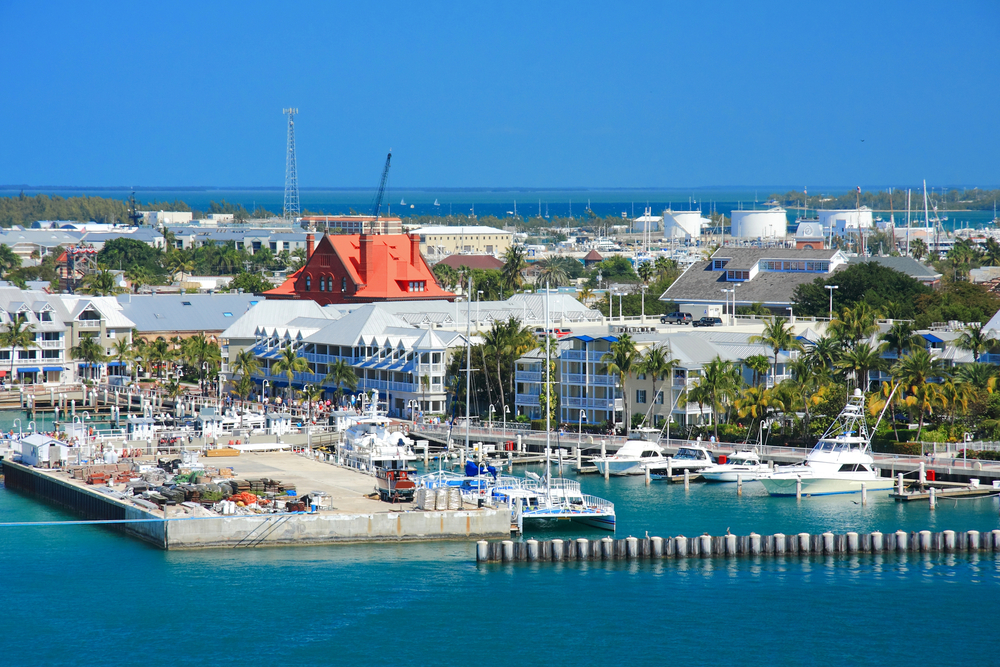 View of Key West Harbour