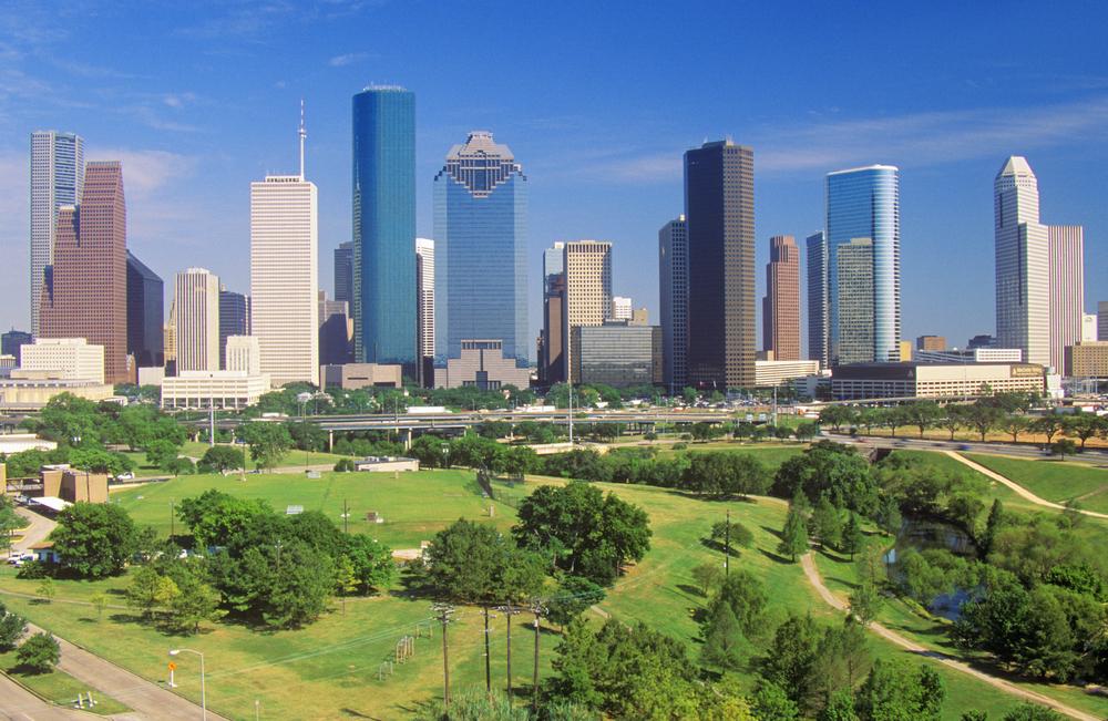 View of Houston, Texas
