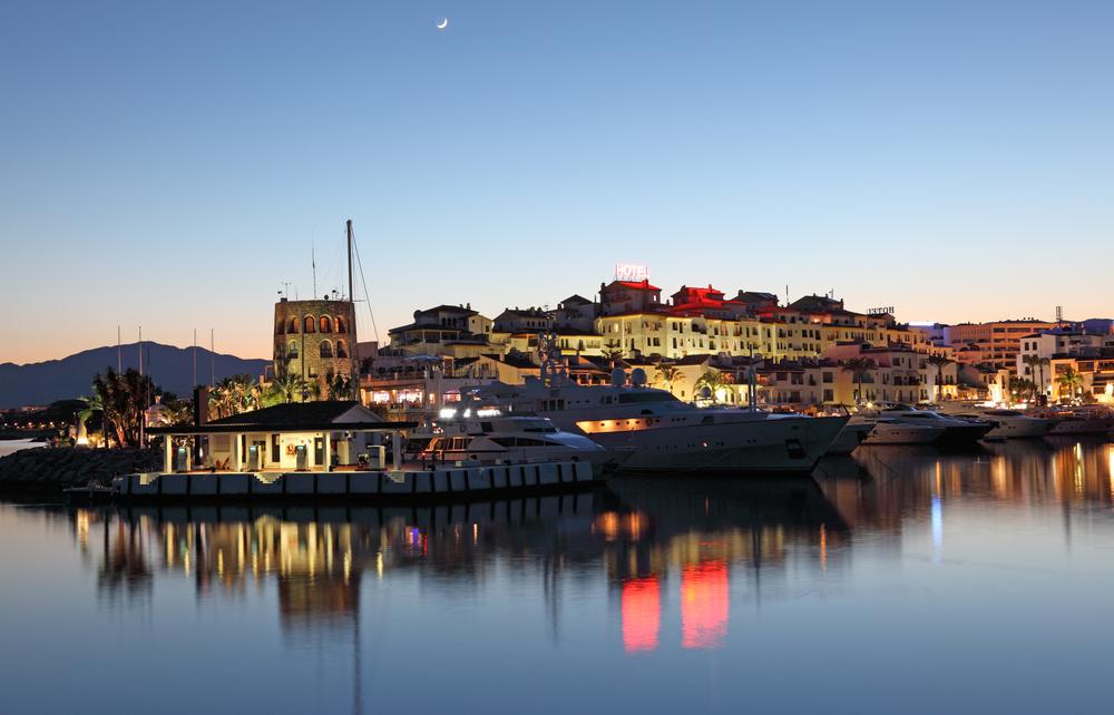 Puerto Banus, marina Marbella