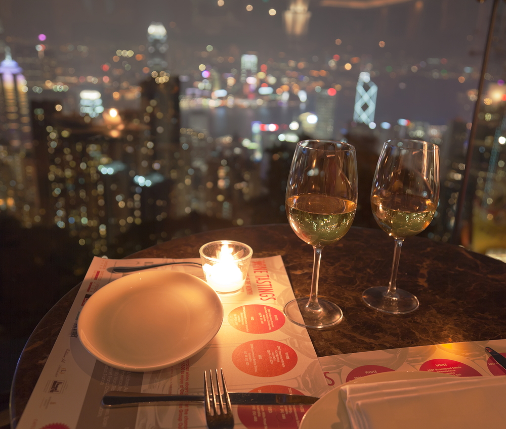 Dining with a view in Hong Kong