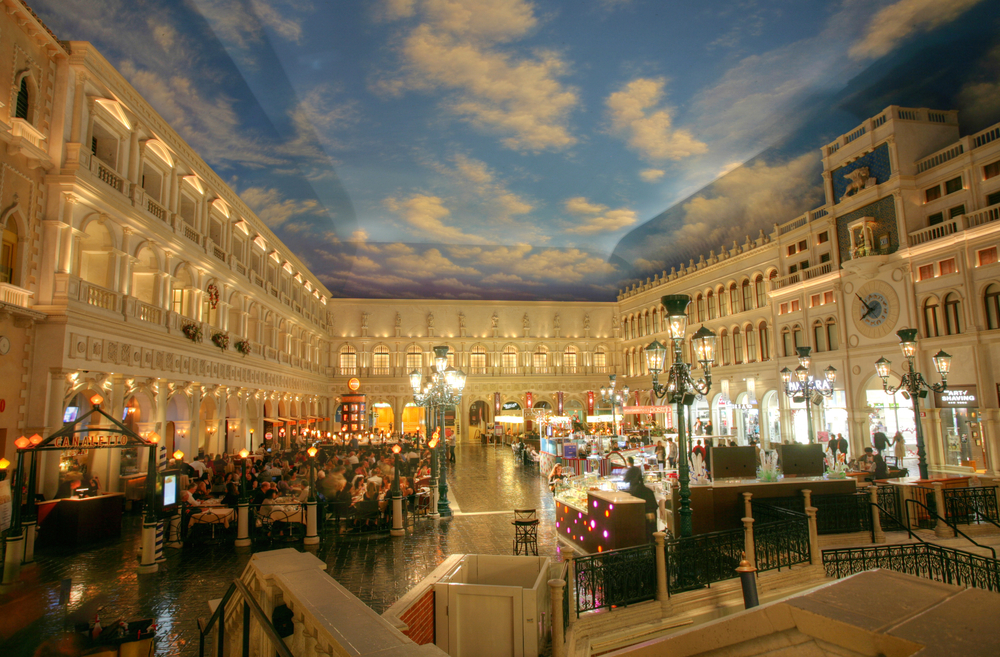 Grand Canal Shops at the Venetian in Las Vegas