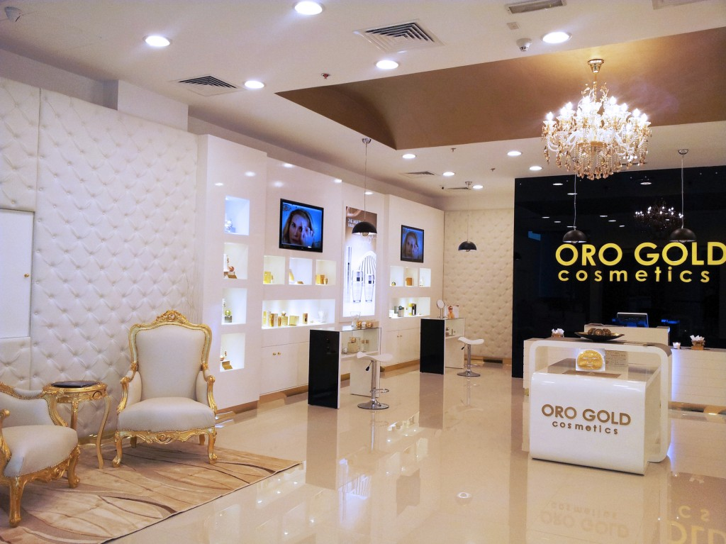 Ultra luxurious decor at the OROGOLD in Abu Dhabi, UAE
