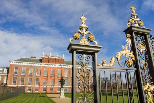 Kensington Palace in London, UK