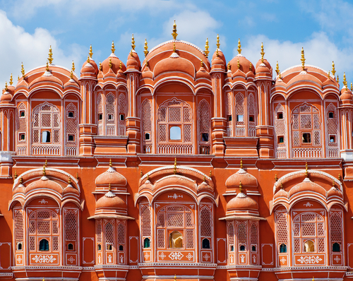 Palace of the Winds in Jaipur, Jajastan, India