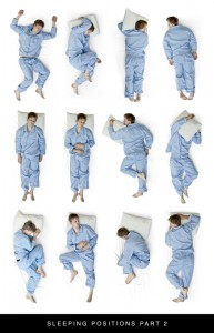 Various Sleeping Positions
