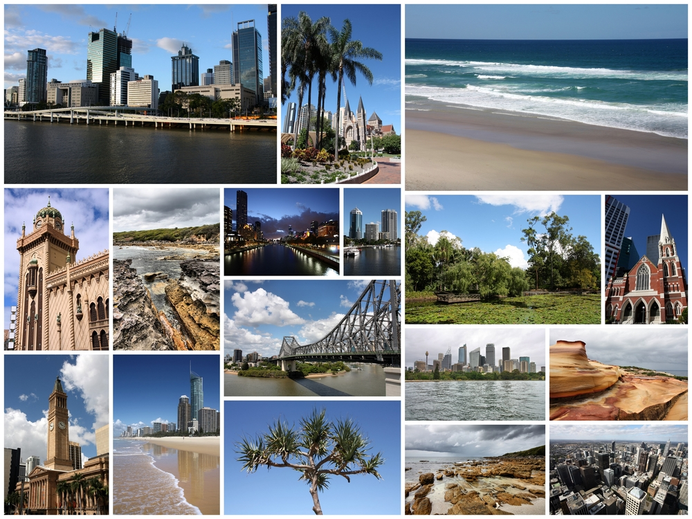 Picture collage of things to do in Perth, Australia