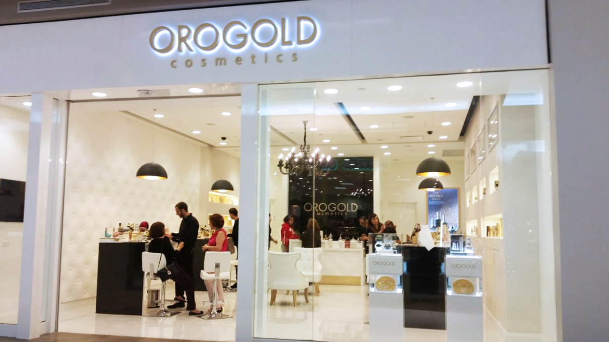 Store front view of OROGOLD's newest location in Puerto Rico