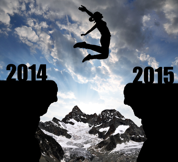Jumping from 2014 to 2015