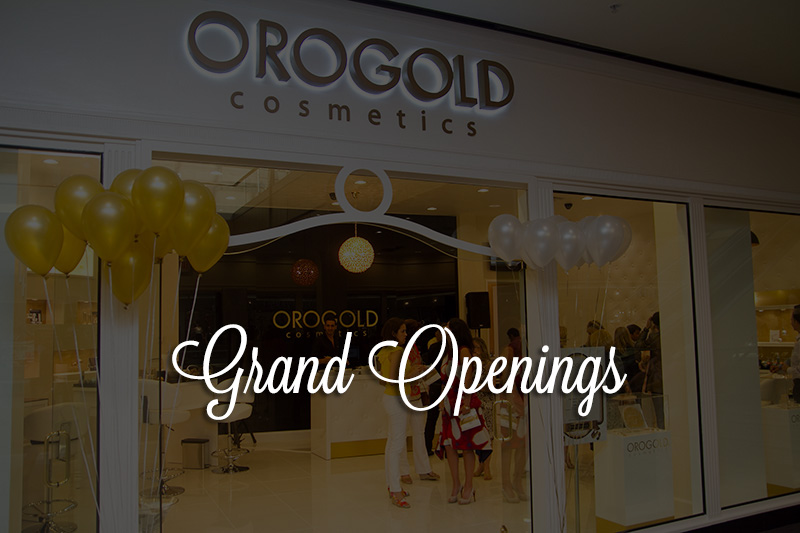 OROGOLD grand opening store front