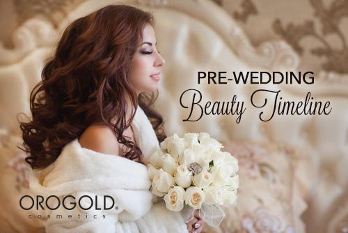 Pre Wedding Beauty Timeline