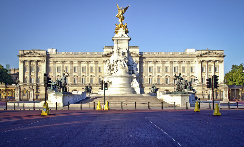 Buckingham Palace, London, UK.