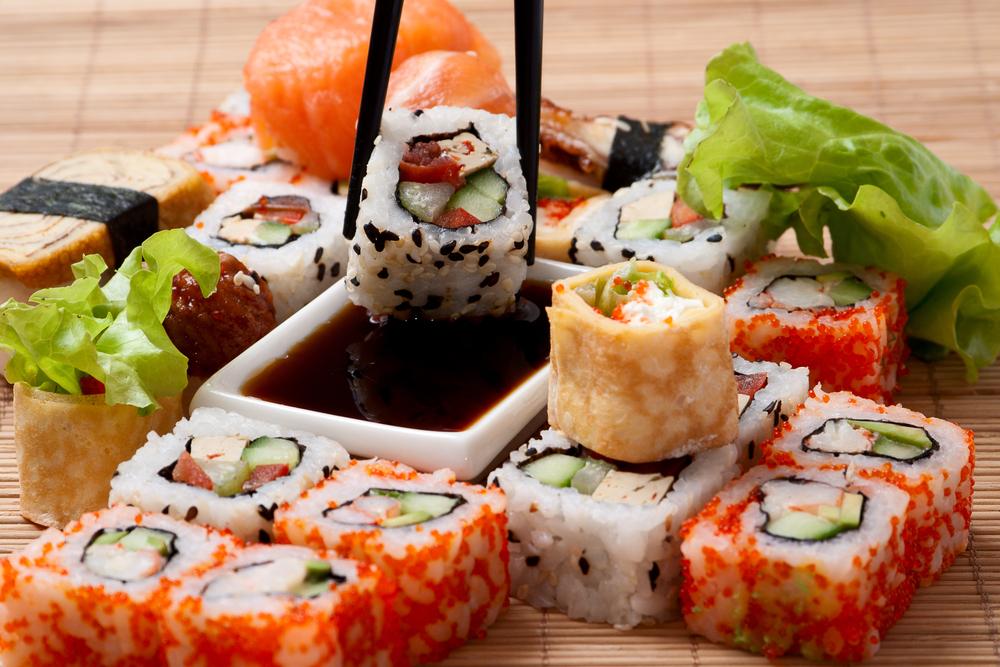 Image of a beautiful Japanese dish.