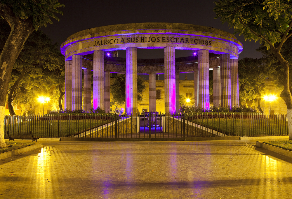 A monument in Guadalajara, Mexico
