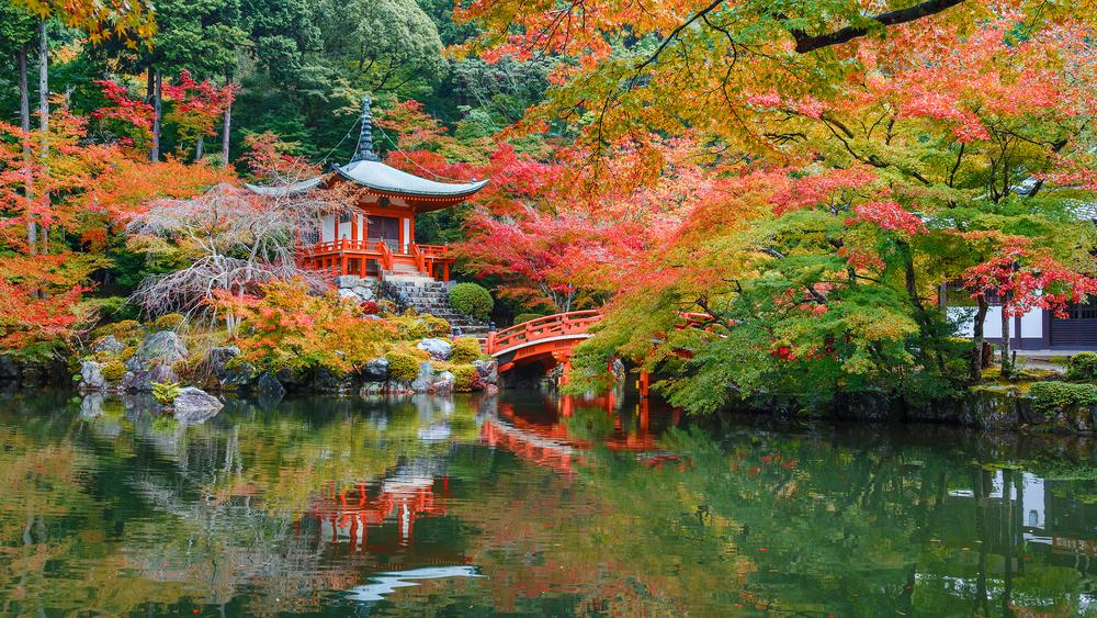 The Daigoji Temple in Kyoto, Japan