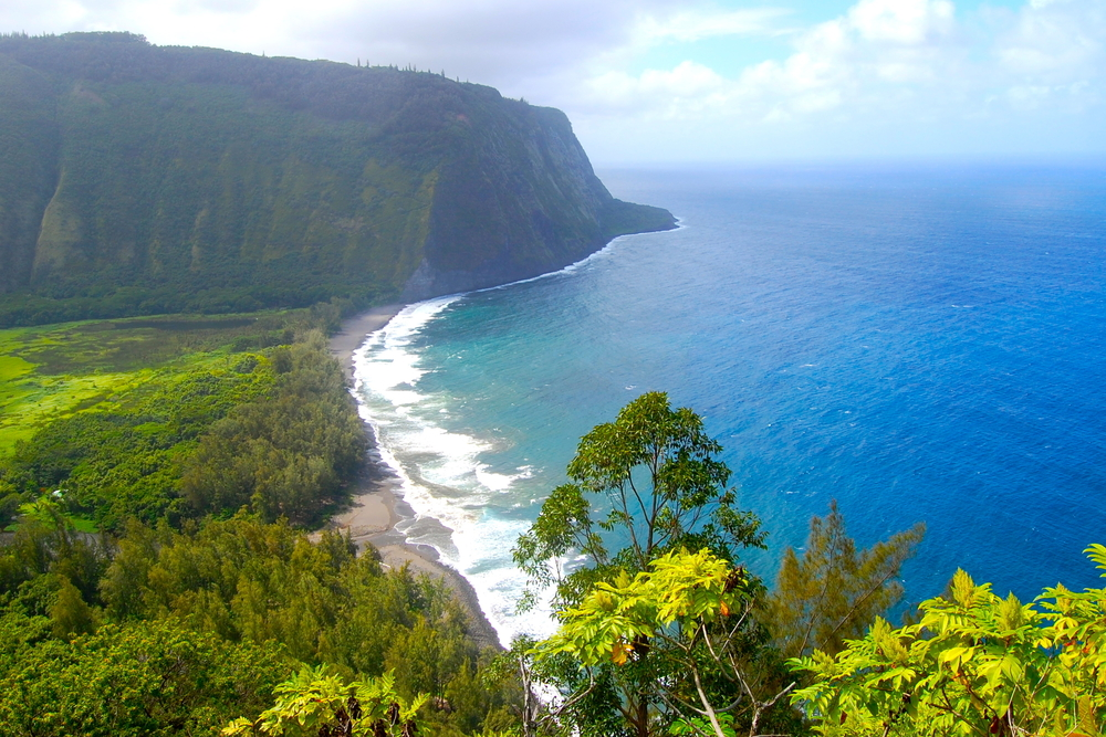 Waipi'o Valley, Big Island, Hawaii.