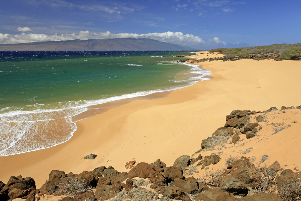 The Polihua Beach, Lanai, Hawaii