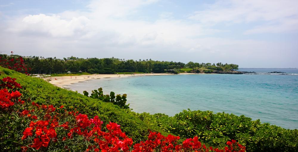 The Hapuna Beach, Big Island, Hawaii