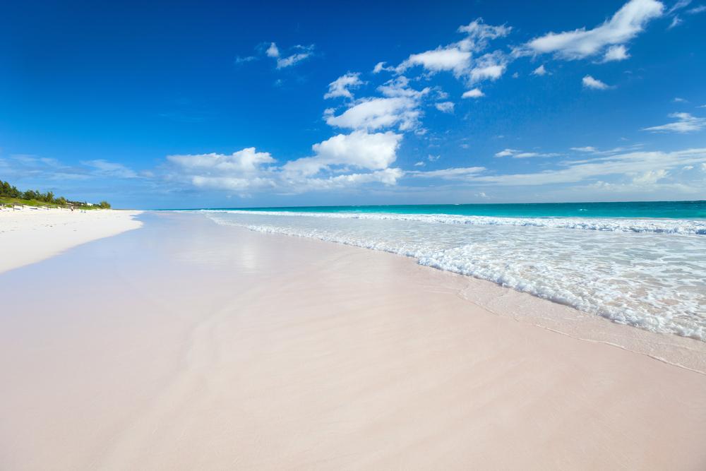 Pink Sand Beaches, Bahamas.