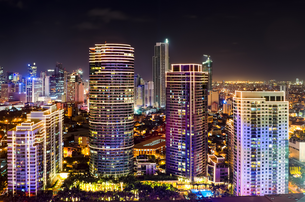 Makati City Skyline