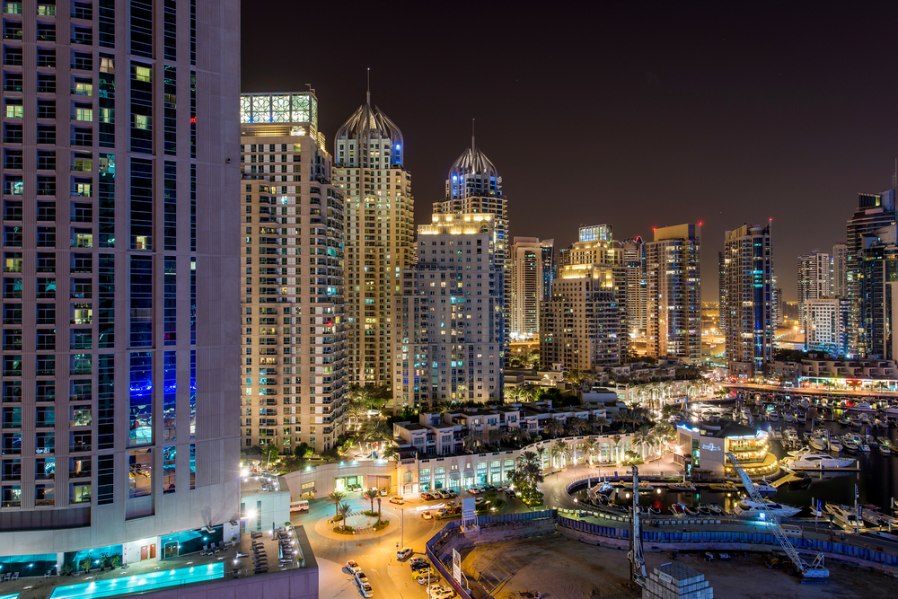 The Dubai Skyline