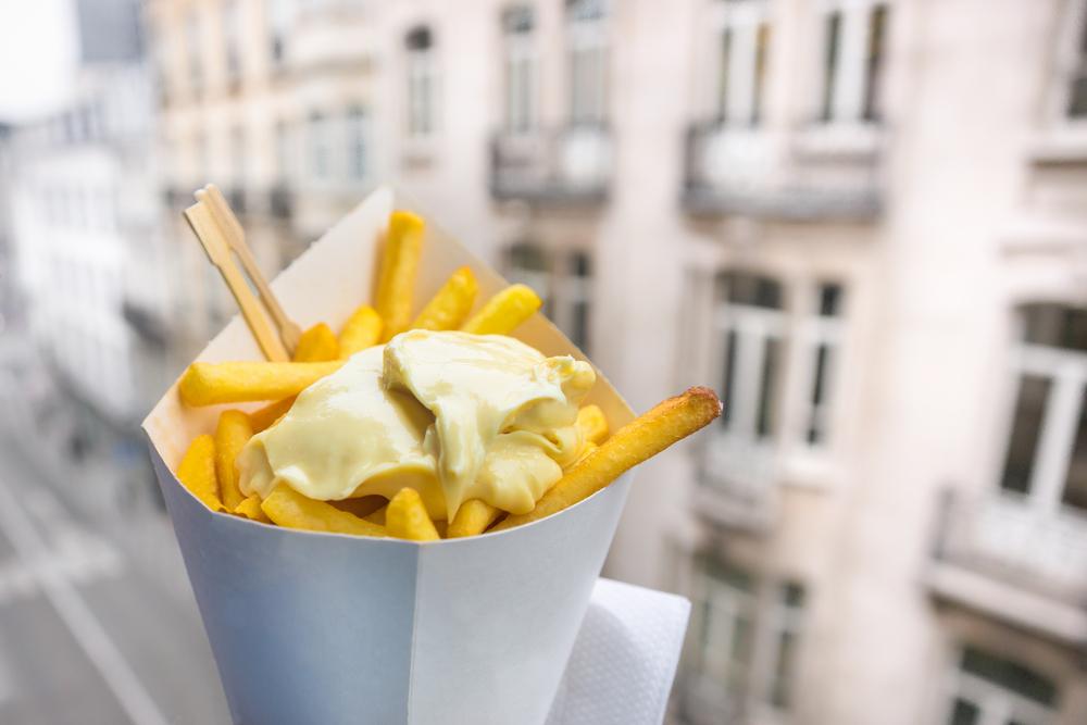 Fries in Belgium.