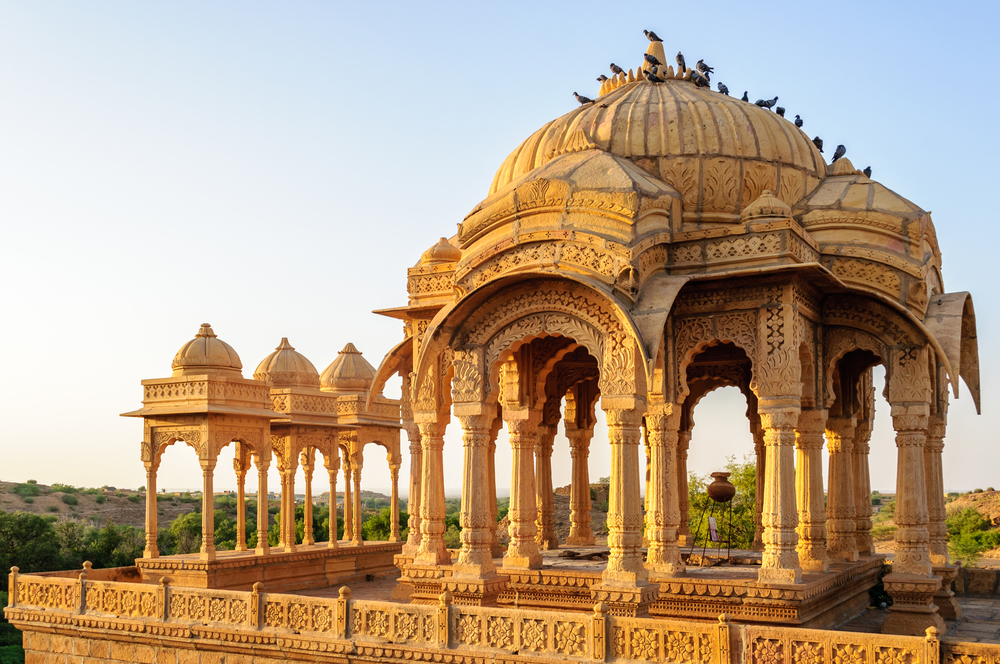 A palace in Rajasthan.