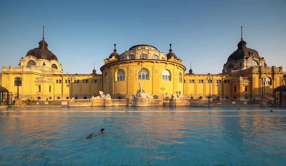 Széchenyi Baths, Budapest.