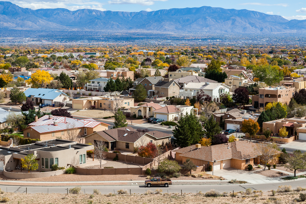 Albuquerque neighborhood.