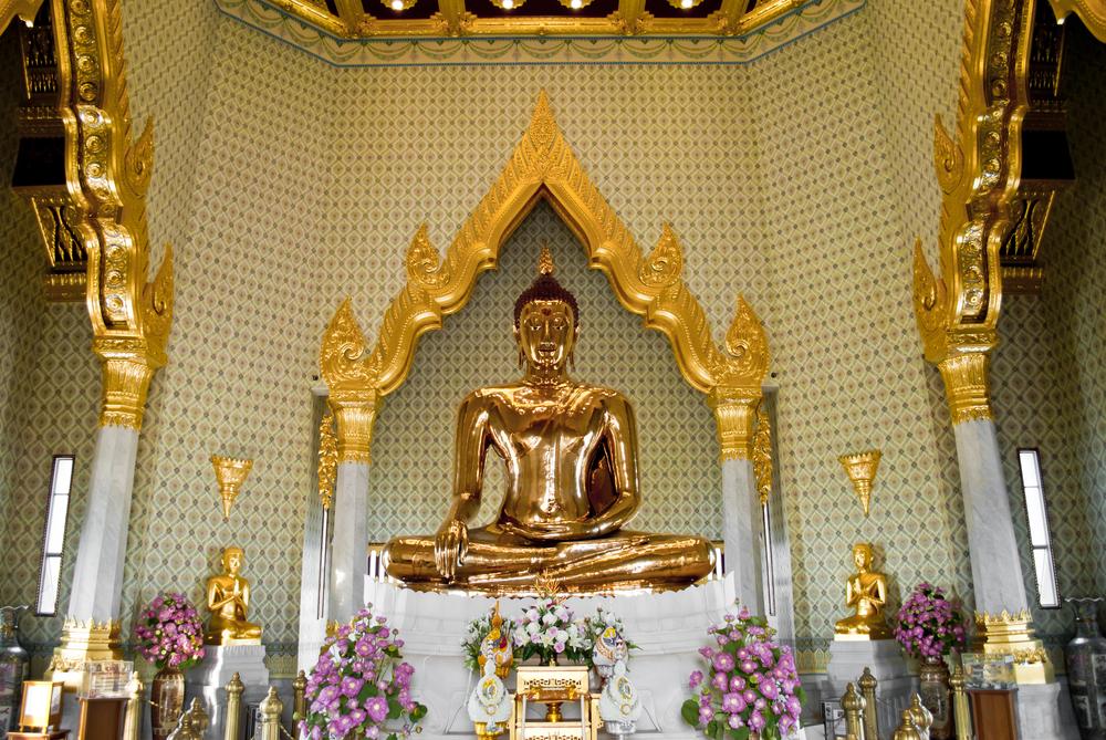 Golden Buddha statue, Bangkok