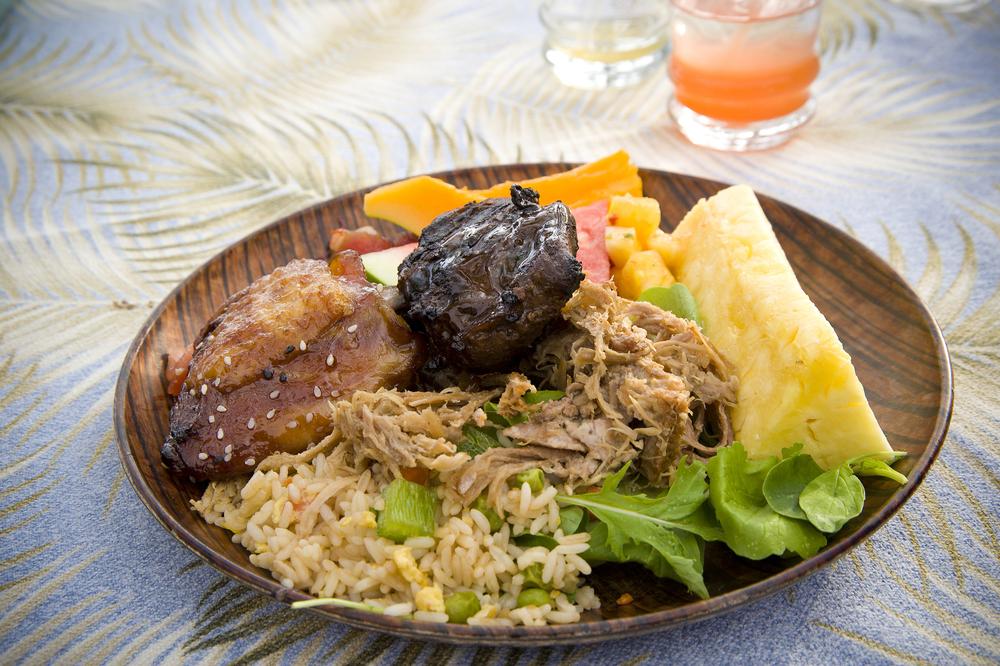 Hawaiian food.