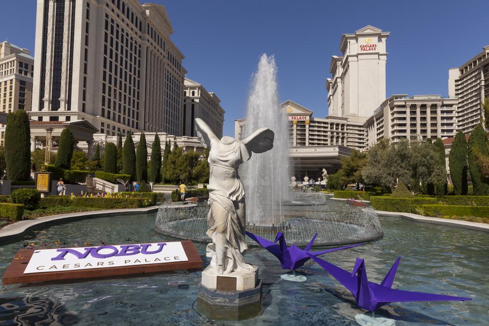 Nobu Hotel, Caesar's Palace, Las Vegas.
