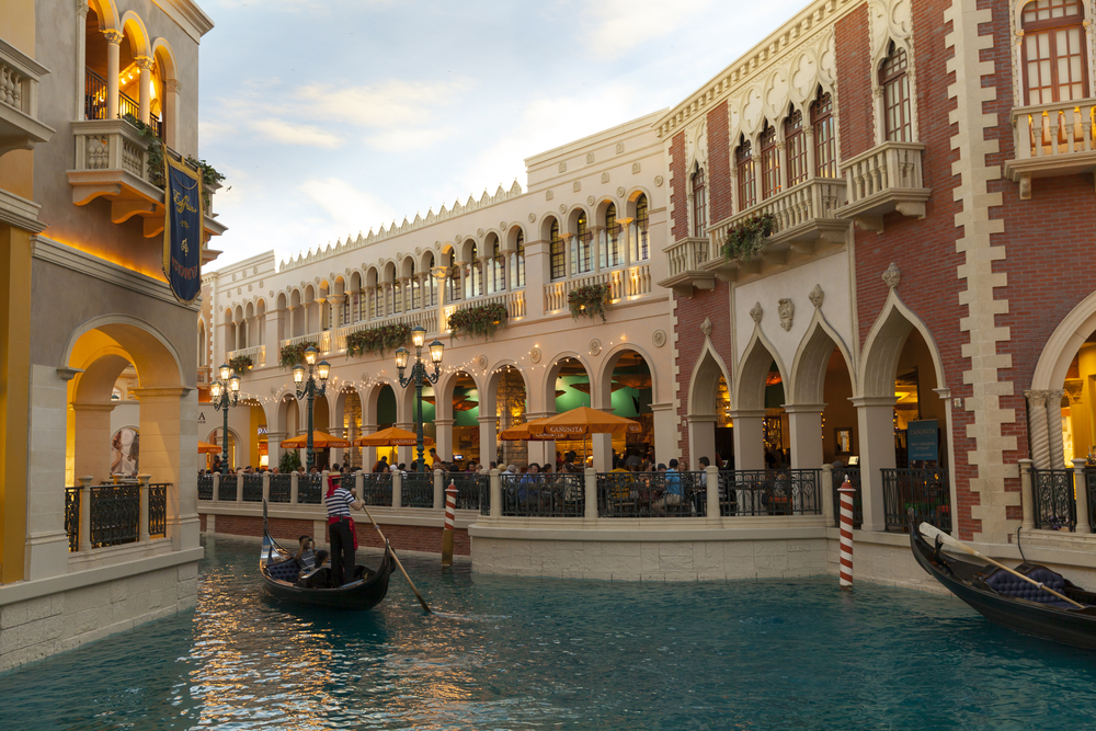 Grand Canal Shoppes, Caesars Palace, Las Vegas.