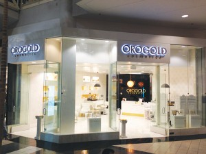 OROGOLD Store in Arden Fair Mall, Sacramento