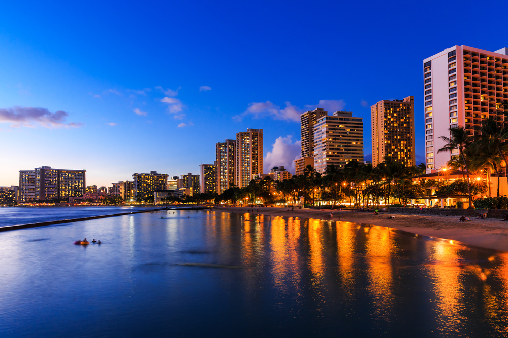 Waikiki Beach, Honolulu