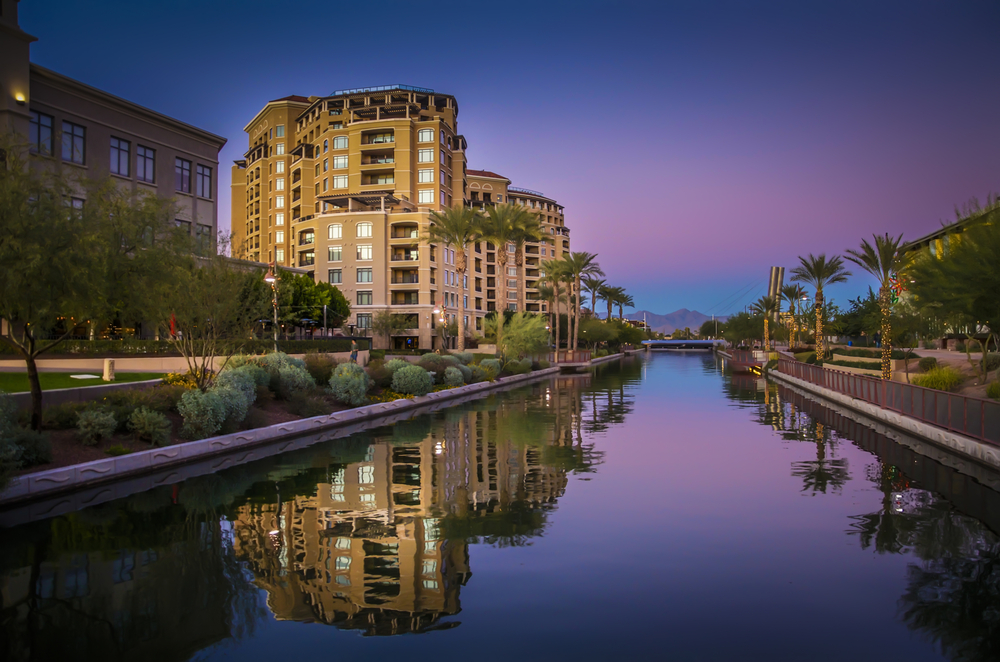 Canal in Scottsdale