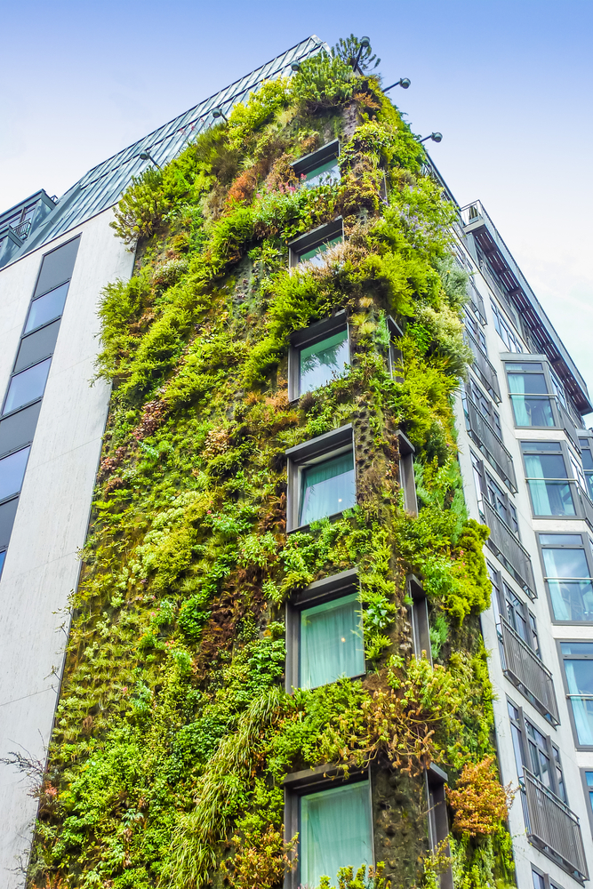 Eco building in London