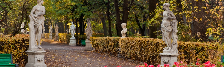 Summer Garden, St. Petersburg