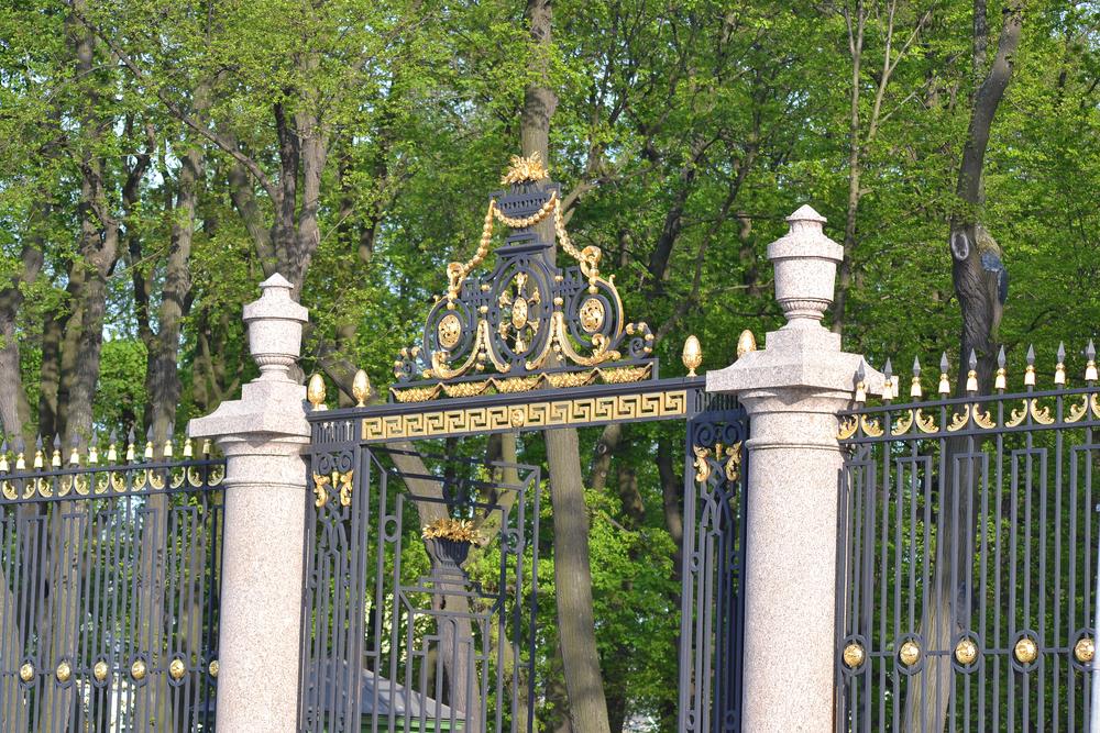 Iron Fence, Summer Garden, St. Petersburg`