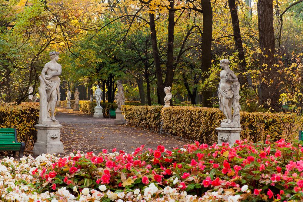 Summer Garden, St. Petersburg