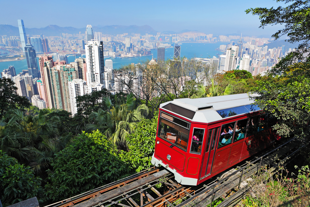 The Peak cable car