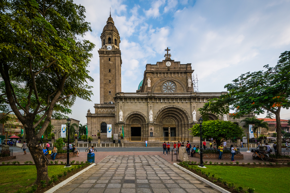 The Manila Cathedral, Manila, The Philippines