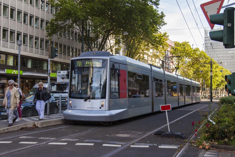 Dusseldorf tram